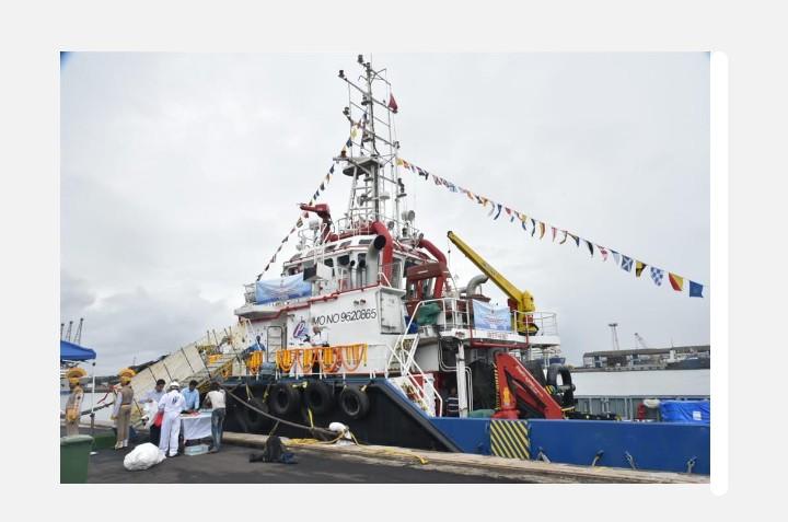 वॉटर लिली'या 'इटीव्ही'चे नौवहन मंत्री मनसुख मांडवीय यांच्या हस्ते जलावतरण