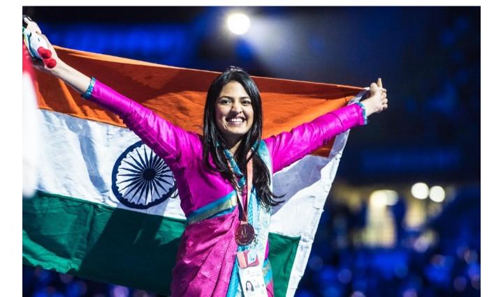 वर्ल्डस्किल्स'मध्ये श्वेता रतनपुराची कांस्य पदकाची कमाई
