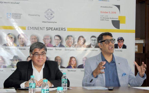इंडिया बिझनेस लिटरेचर फेस्टिवल ५ ऑक्टोबरला