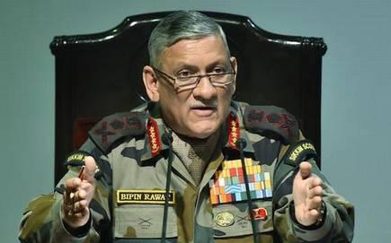 500 दहशतवादी भारतात घुसण्याच्या प्रयत्नात', लष्कर प्रमुखांची माहिती