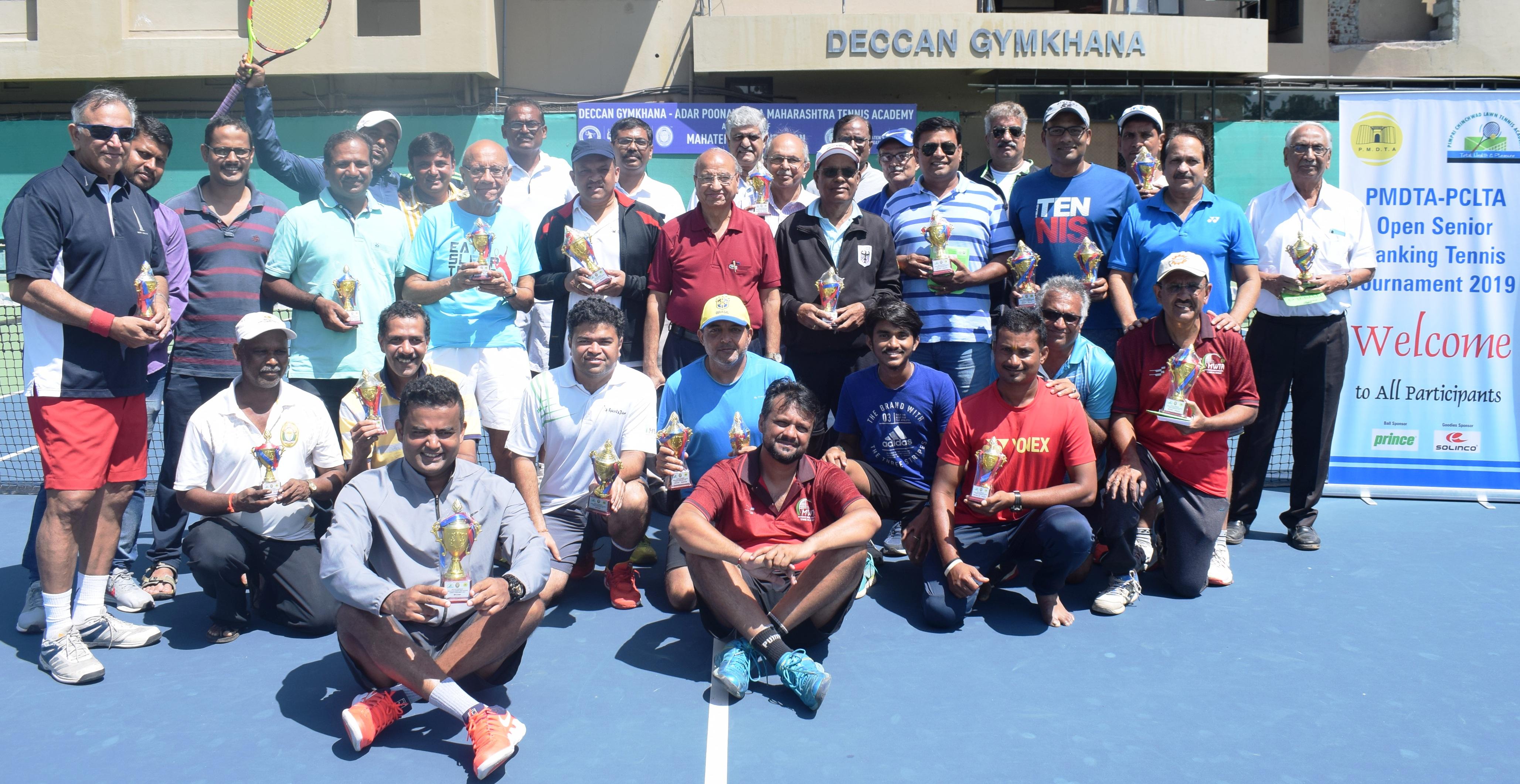 पीएमडीटीए-पीसीएलटीए वरिष्ठ मानांकन टेनिस अजिंक्यपद स्पर्धेत निर्मल वाधवानीला दुहेरी मुकुट