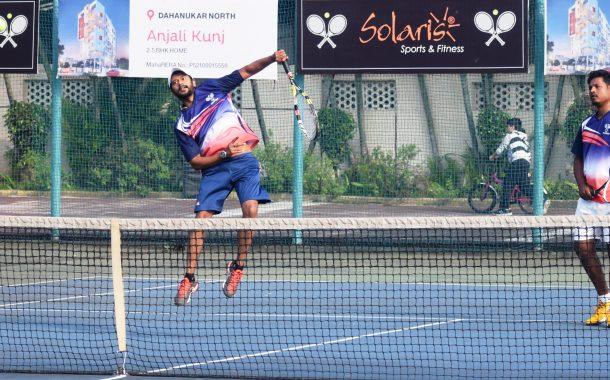 सोलारिस आंतर क्लब टेनिस अजिंक्यपद स्पर्धेत एस.पी सुल्तान्स,  डायमंडस् , आरपीटीए सोलारीस संघांचा दुसरा विजय