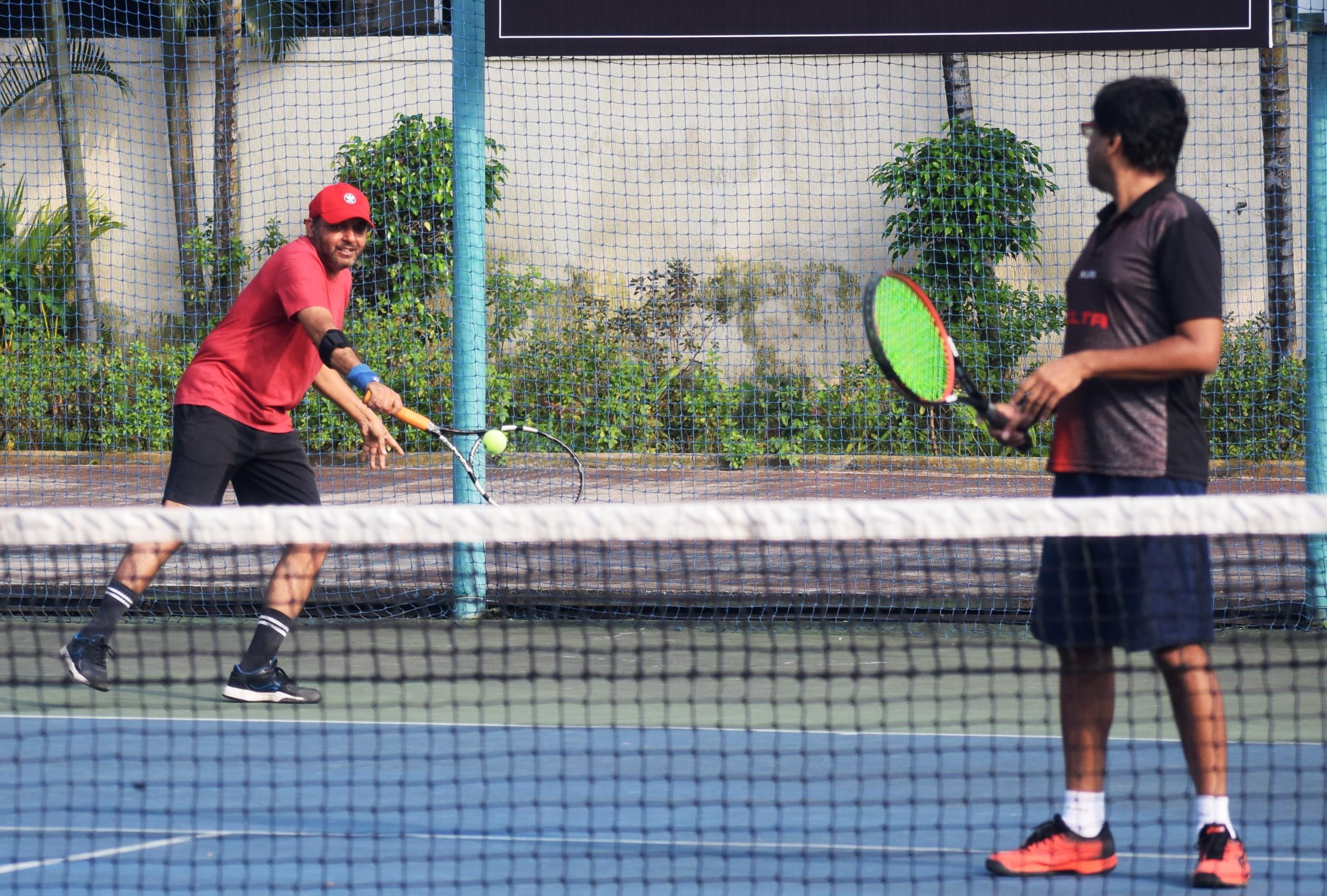 सोलारिस आंतर क्लब टेनिस अजिंक्यपद स्पर्धेत डेक्कन चॅलेंजर्स,   टेनिस टायगर्स,  डेक्कन ऍवेंजर्स,  पीसीएलटीए यांचा उप-उपांत्यपुर्व फेरीत प्रवेश