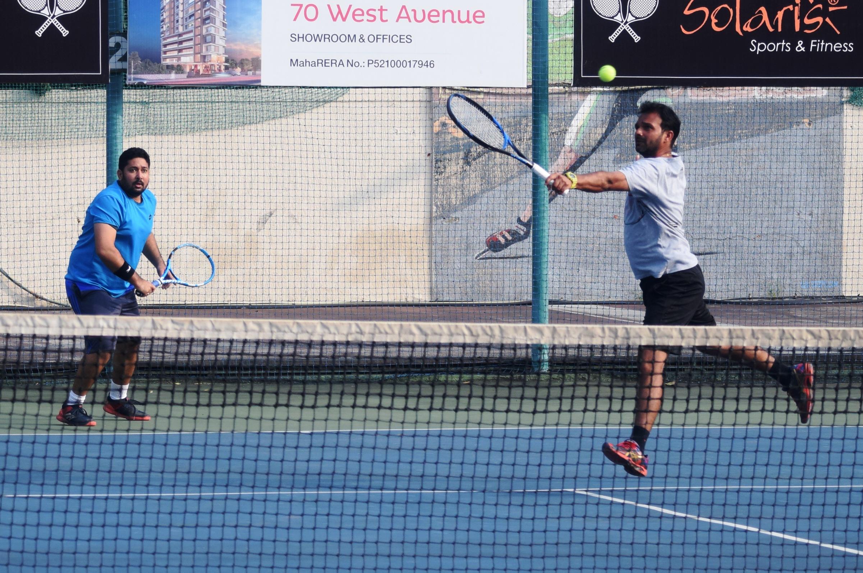 सोलारिस आंतर क्लब टेनिस अजिंक्यपद स्पर्धेत  क्विनस् टाऊन,  डायमंडस्, एफ सी फाल्कन्स  संघांचा उप-उपांत्यपुर्व फेरीत प्रवेश