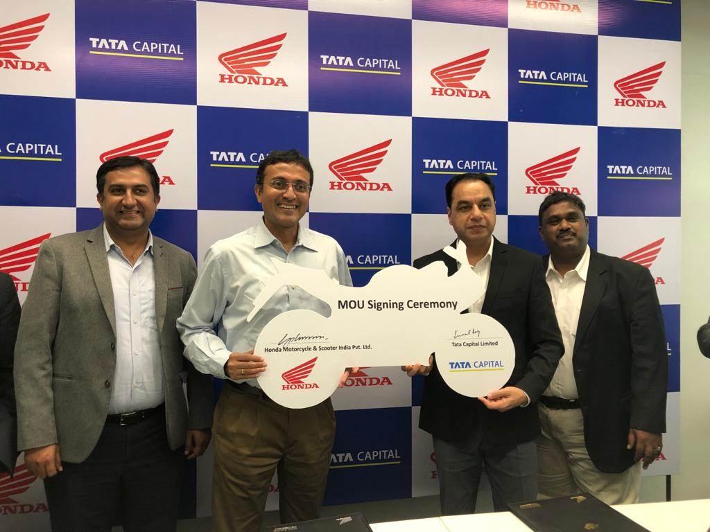 होंडा टुव्हीलर्स इंडिया- टाटा कॅपिटल फायनान्शियल सर्व्हिसेस लिमिटेडबरोबर रिटेल वित्त सामंजस्य करार