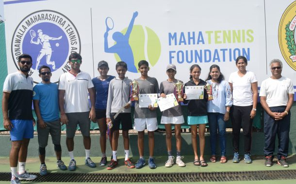 अखिल भारतीय मानांकन  चॅम्पियनशिप   सिरिज 14 वर्षाखालील टेनिस स्पर्धेत ईशान देगमवार, अलिना शेख यांना विजेतेपद