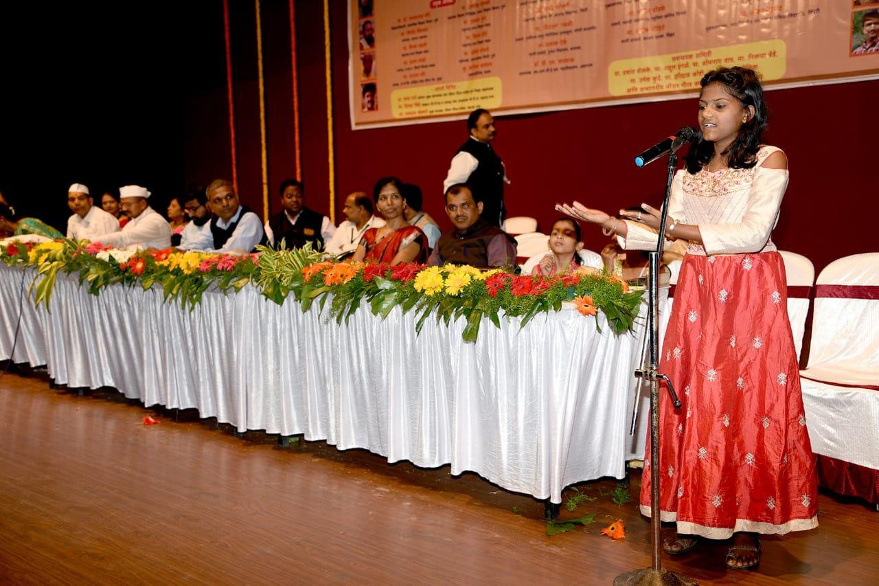 बाल-कुमारांच्या कवितांनी रसिकांना केले विचारप्रवृत्त