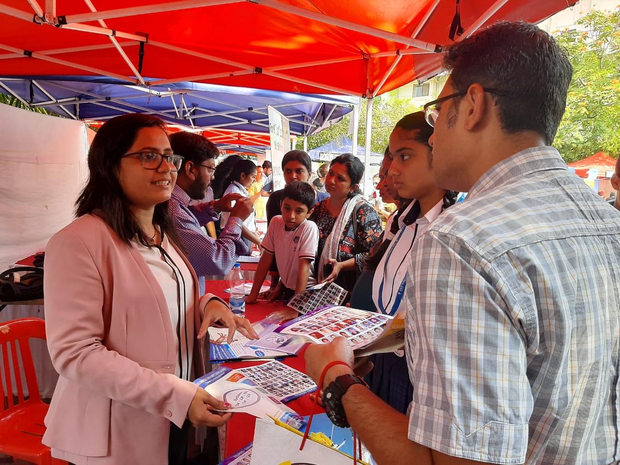 गोयल गंगा इंटरनैशनल स्कुच्यावतीने विद्यार्थ्यांसाठी करीअर मार्गदर्शन एक्स्पोचे आयोजन