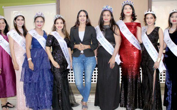 जेनेट, रामेश्वरी, अभिलाषा ठरल्या 'द गॉर्जियस क्वीन ऑफ महाराष्ट्र'