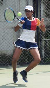 16 वर्षाखालील टेनिस स्पर्धेत अरिंदम बीट, काम्या परब यांचा मानांकीत खेळाडूंवर विजय