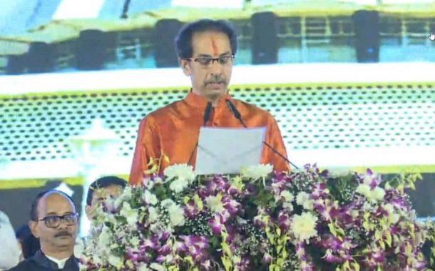 छत्रपती शिवाजी महाराज आणि आई-वडिलांच्या आशीर्वादाने उद्धव ठाकरेंनी घेतली मुख्यमंत्री पदाची शपथ