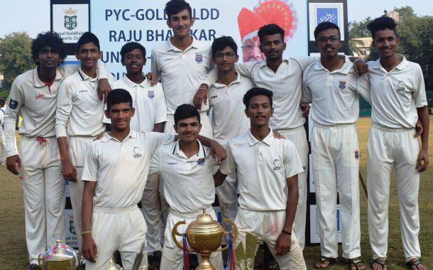 दुसऱ्या पीवायसी गोल्डफिल्ड राजू भालेकर करंडक निमंत्रित 19 वर्षाखालील क्रिकेट स्पर्धेत केडन्स क्रिकेट अकादमी संघाला विजेतेपद