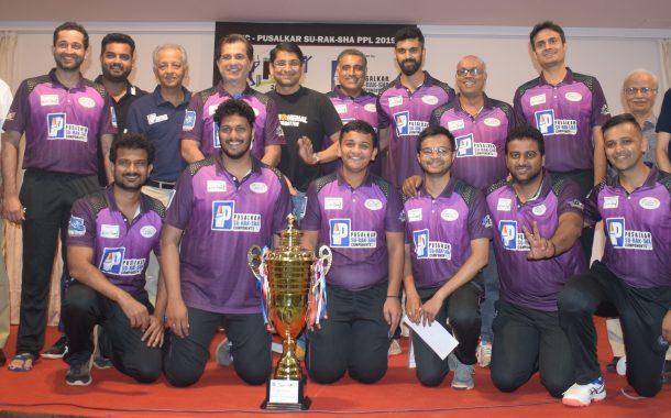 पीवायसी-पुसाळकर सु-रक-क्षा कंपोनंट्स पीवायसी प्रीमियर लीग क्रिकेट 2019 स्पर्धेत डॉल्फिन्स संघाला सलग दुसऱ्या वर्षी विजेतेपद