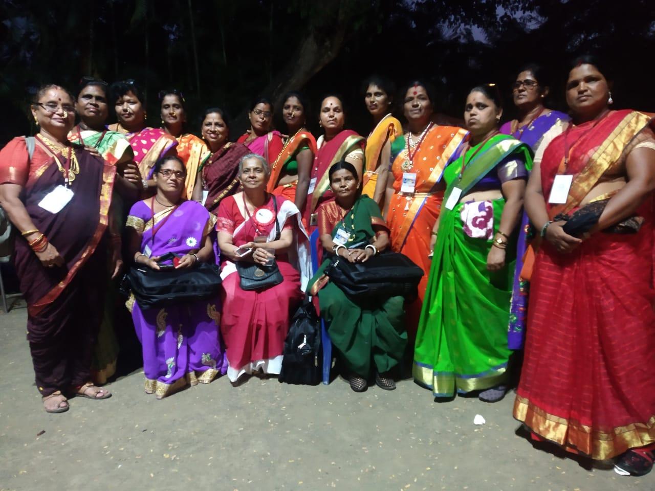 अखिल भारतीय अंगणवाडी सेविका व मदतनीस फेडरेशनचे ९ वे अधिवेशन उत्साहात संपन्न