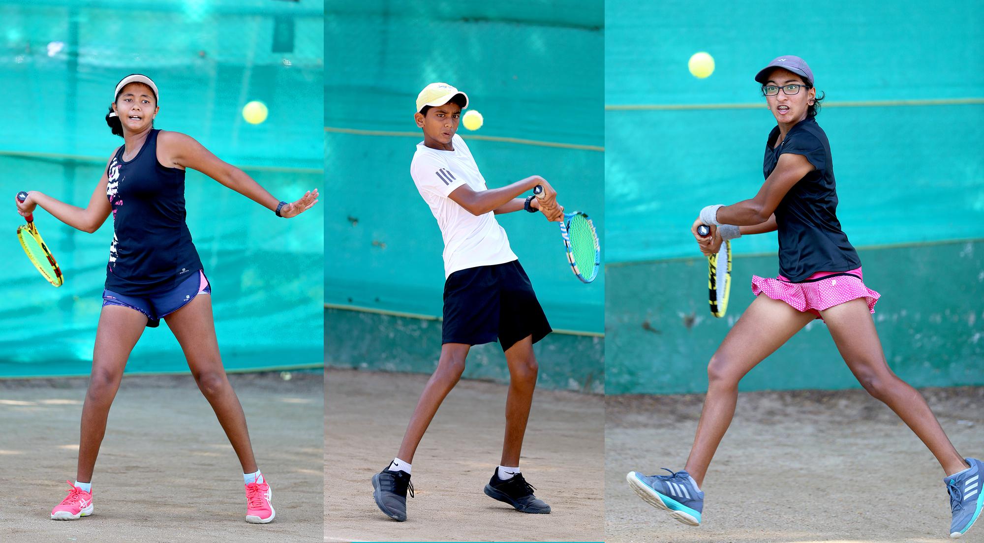 राष्ट्रीय टेनिस स्पर्धेत सिद्धार्थ मराठे,  जैष्णव शिंदे,  अधिरी अवल,  रुमा गायकैवारी यांचा मानांकीत खेळाडूंवर विजय