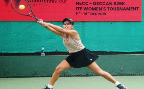 25000डॉलर महिला टेनिस अजिंक्यपद स्पर्धेत एकेरीत ग्रेट ब्रिटनच्या इमा राडकानू, रशियाच्या ओल्गा दोरोशिना यांचे सनसनाटी विजय