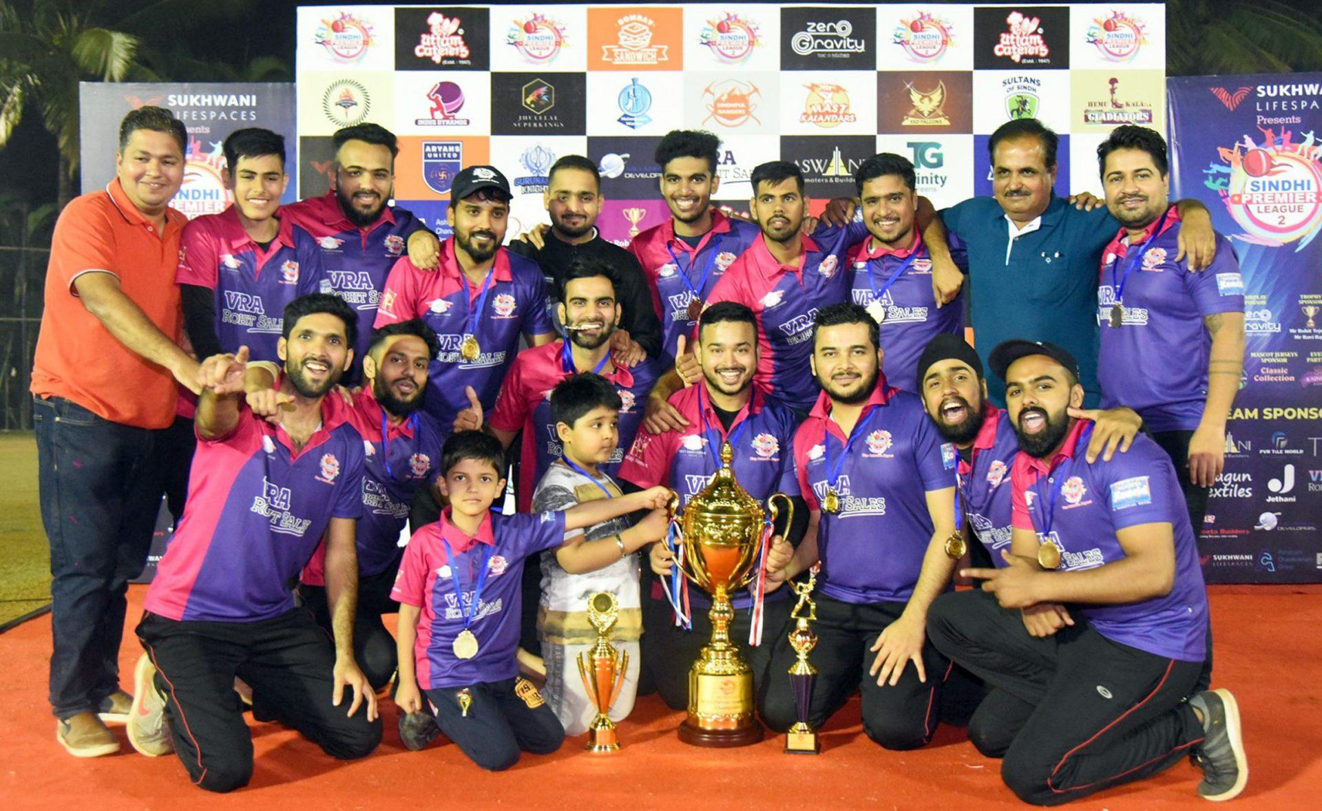 संत कंवरम रॉयल्सने पटकावले 'सिंधी प्रीमिअर लीग २'चे विजेतेपद