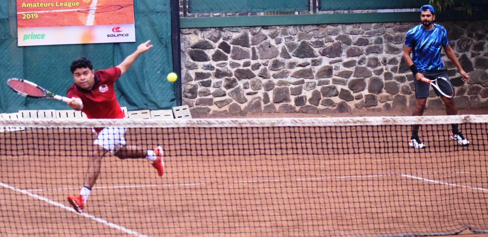 अरुण साने मेमोरियल हौशी टेनिस लीग स्पर्धेत पीवायसी अ व एमडब्लूटीए यांच्यात अंतिम लढत