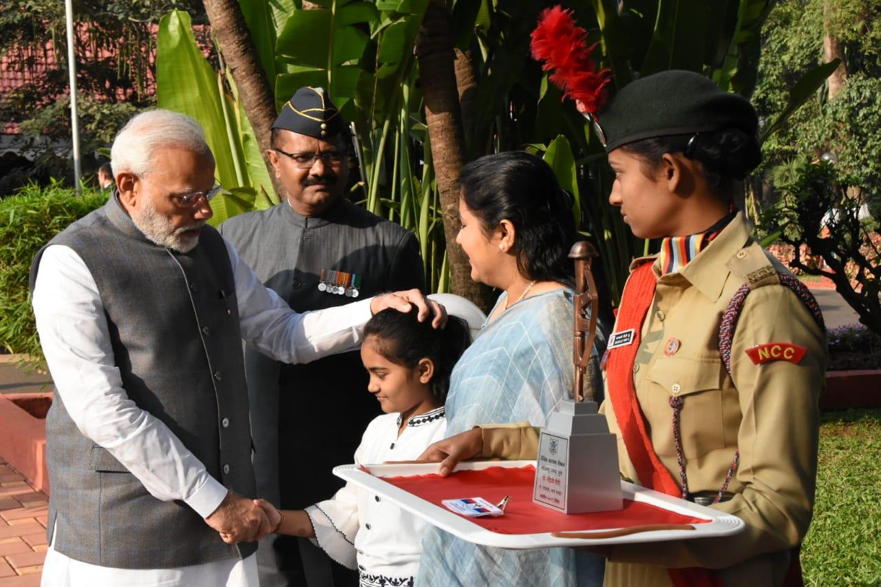सशस्त्र सेना ध्वजदिन निधी संकलनाचा प्रधानमंत्री नरेंद्र मोदी यांच्या हस्ते शुभारंभ