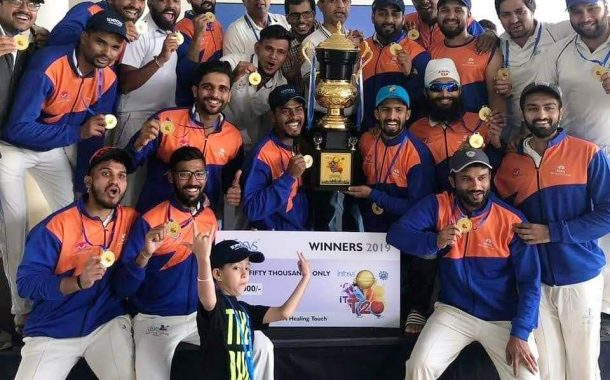इन्फोसिस आंतर आयटी टी-२० क्रिकेट करंडक स्पर्धेत  टीसीएस  संघाला विजेतेपद