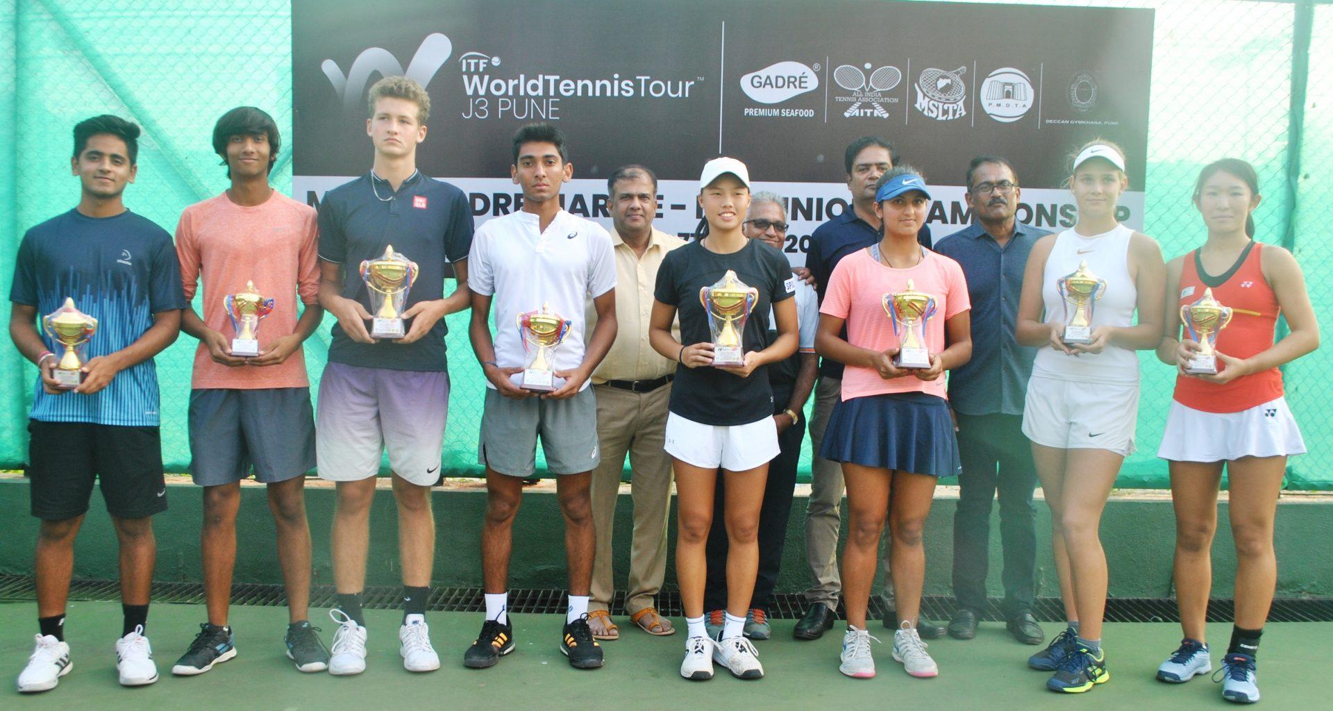 गद्रे मरीन-एमएसएलटीए आयटीएफ कुमार टेनिस अजिंक्यपद स्पर्धेत देव जावीया याला दुहेरी मुकुटाची संधी