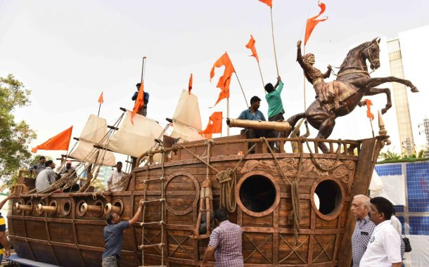 महाराष्ट्राचा चित्ररथ आता शिवाजीपार्क येथील संचलनात सांगणार कान्होजी आंग्रे यांच्या शौर्याची गाथा