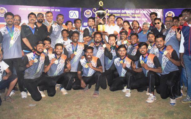 सातव्या गोवर्धन सीए आंतर फर्म क्रिकेट लीग 2020 स्पर्धेत रॉयल्स संघाला विजेतेपद
