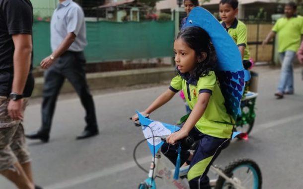 सायकलसफर करीत नववर्षाचे स्वागत