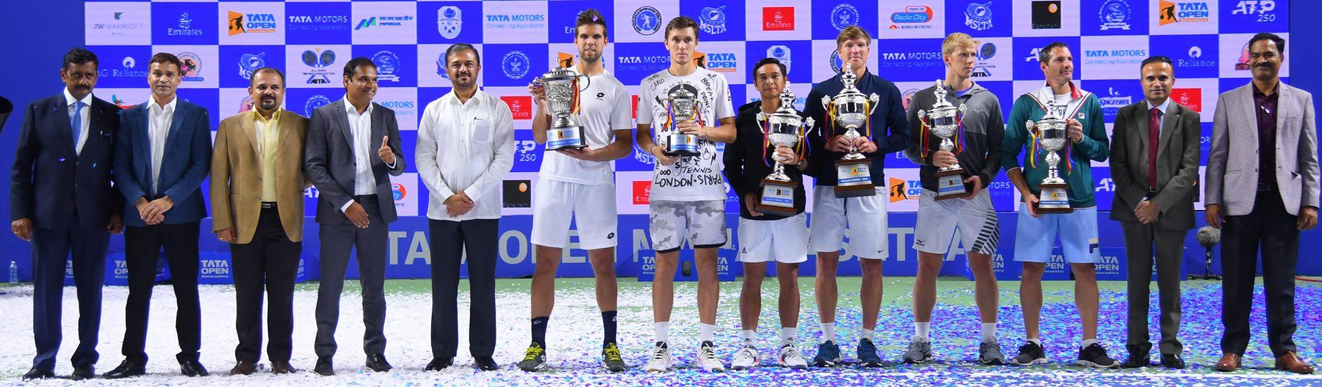 तिसऱ्या टाटा ओपन महाराष्ट्र टेनिस स्पर्धेत जिरी वेस्लीचे मानांकीत खेळाडूवर विजयासह विजेतेपद