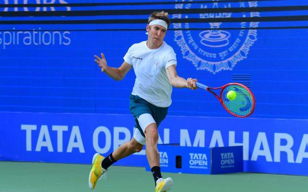 तिसऱ्या टाटा ओपन महाराष्ट्र टेनिस स्पर्धेत सेड्रिक-मार्सेल स्टीब,  यूची सुगीता  यांची आगेकुच