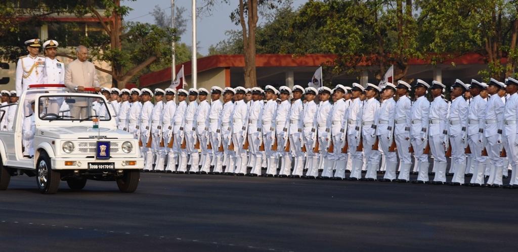 राष्ट्रनिर्मितीच्या प्रक्रियेत भारतीय नौदलाची भूमिका महत्त्वपूर्ण -राष्ट्रपती राम नाथ कोविंद