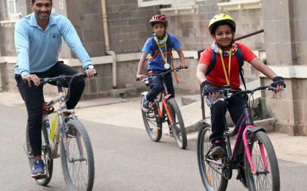 पर्यावरण संवर्धनासाठी पुणेकरांची सायकलस्वारी
