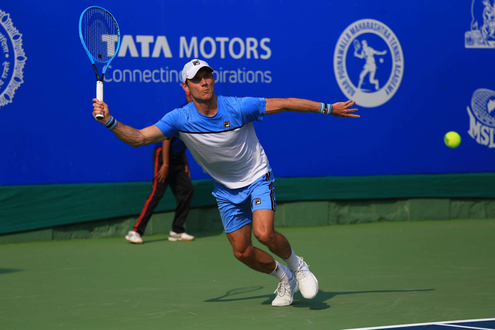 तिसऱ्या टाटा ओपन महाराष्ट्र टेनिस स्पर्धेतमॅथ्यू एबडनचा अव्वल मानांकित खेळाडूवर विजय