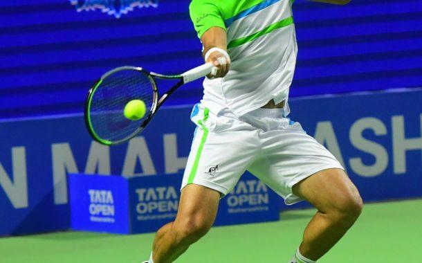 तिसऱ्या टाटा ओपन महाराष्ट्र टेनिस स्पर्धेत भारताच्या प्रजनेश गुन्नेस्वरनचा दुस-या फेरीत प्रवेश