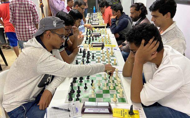 बुद्धिबळ स्पर्धेत सम्मेद शेटे, केतन बोरीचा आघाडीवर