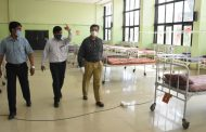 बालेवाडी कोविड-19 केंद्राची विभागीय आयुक्त डॉ.म्हैसेकर यांनी केली पाहणी