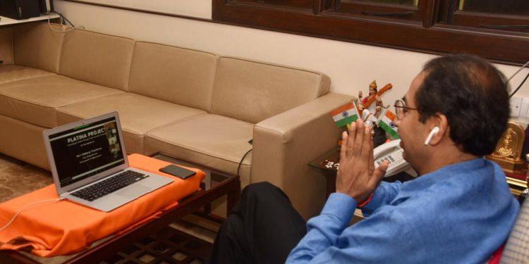 जगातल्या सर्वांत मोठ्या प्लाझ्मा थेरपी ट्रायलचा मुख्यमंत्री उद्धव ठाकरे यांच्या हस्ते शुभारंभ