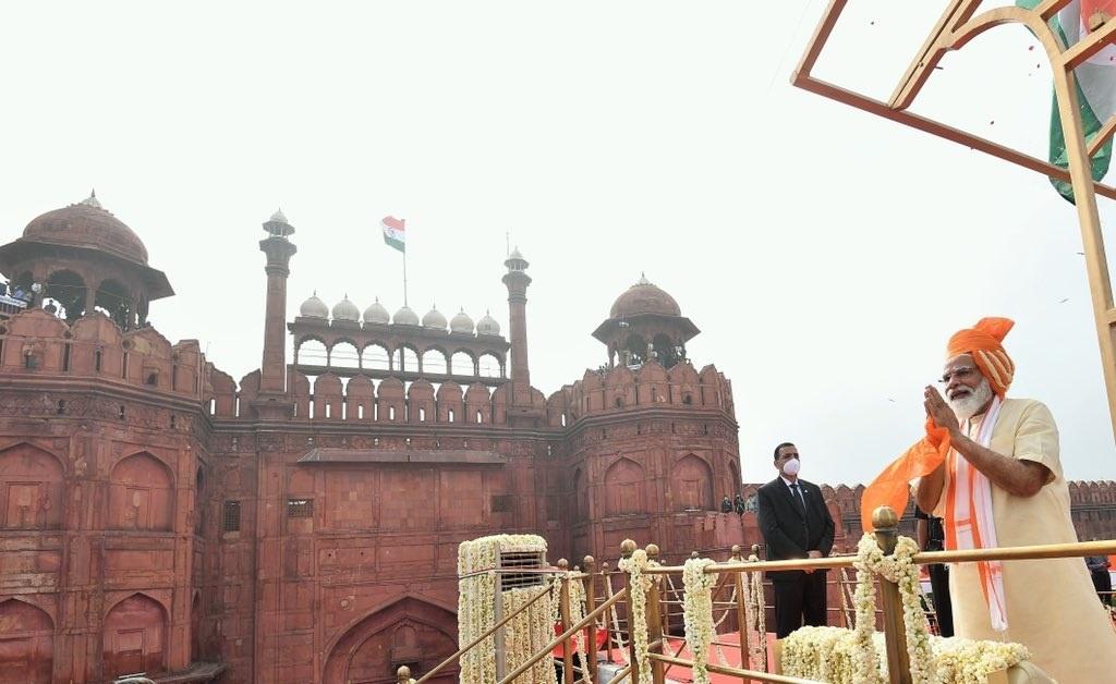 देशाच्या 74 व्या स्वातंत्र्यदिनी दिल्लीच्या ऐतिहासिक लाल किल्ल्यावरून पंतप्रधान नरेंद्र मोदी यांनी जनतेला केलेले संबोधन(जसेच्या तसे )
