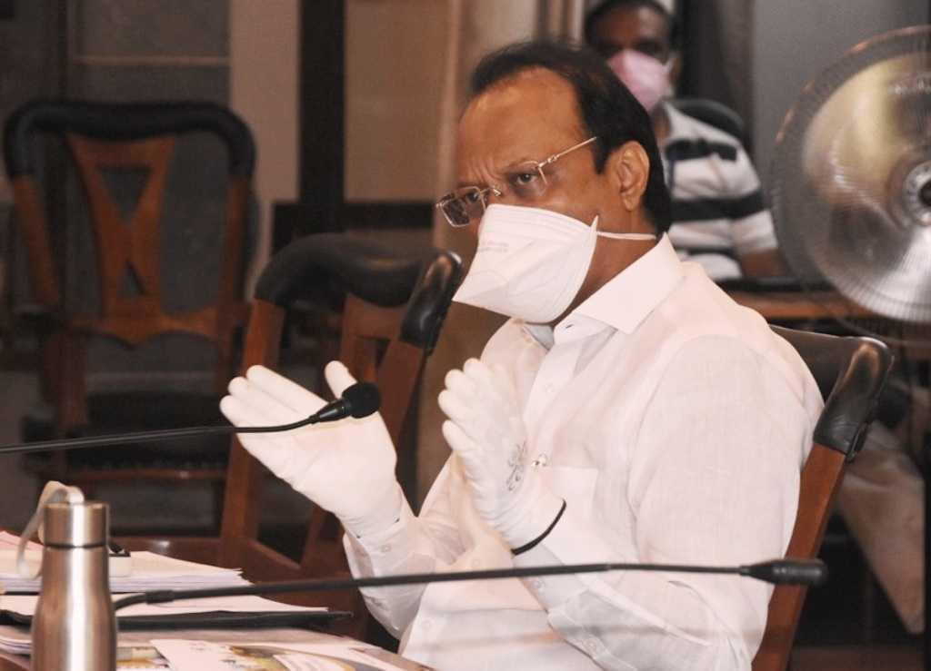 जम्बो हॉस्पिटलचे व्यवस्थापन सुरळीत ठेवावे - उपमुख्यमंत्री अजित पवार