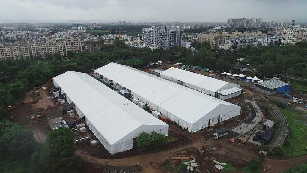 जम्बो कोविड सेंटरमध्ये 400 बेड तयार;आतापर्यंत 832 रुग्णांवर उपचार, 427 डिस्चार्ज