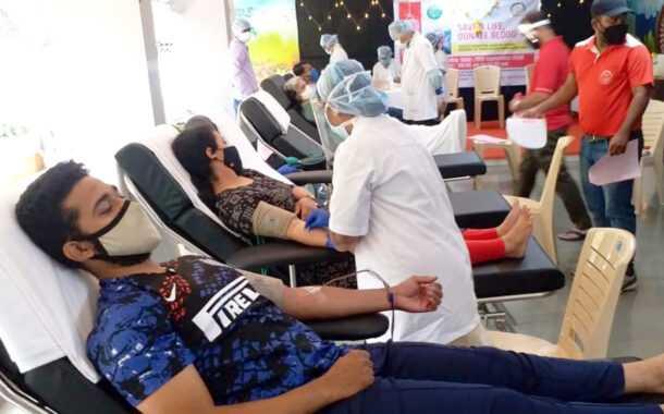 'लोक बिरादरी'तर्फे आयोजित शिबिरात ४४ जणांचे रक्तदान
