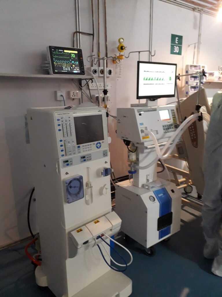 जम्बो रुग्णालयात रक्तशुद्धीकरणाची सुविधा, दहा डायलिसिस मशीन उपलब्ध-रुबल अग्रवाल