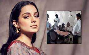 कंगनाच्या मुंबई ऑफिसवर बीएमसीचा छापा