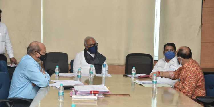 इतर मागासवर्ग समाजाच्या मागण्यांबाबत मंत्रीमंडळ उपसमितीची बैठक