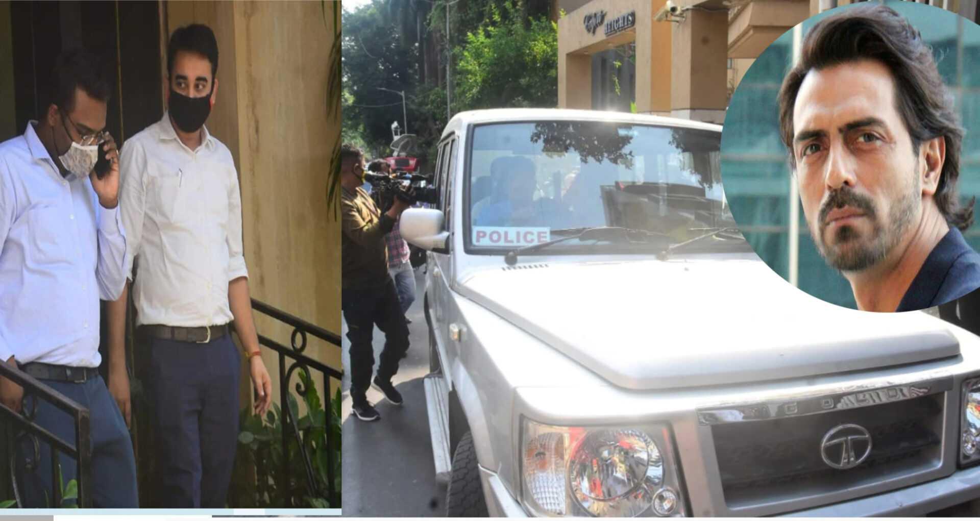 अर्जुन रामपालच्या घरी NCB चा छापा