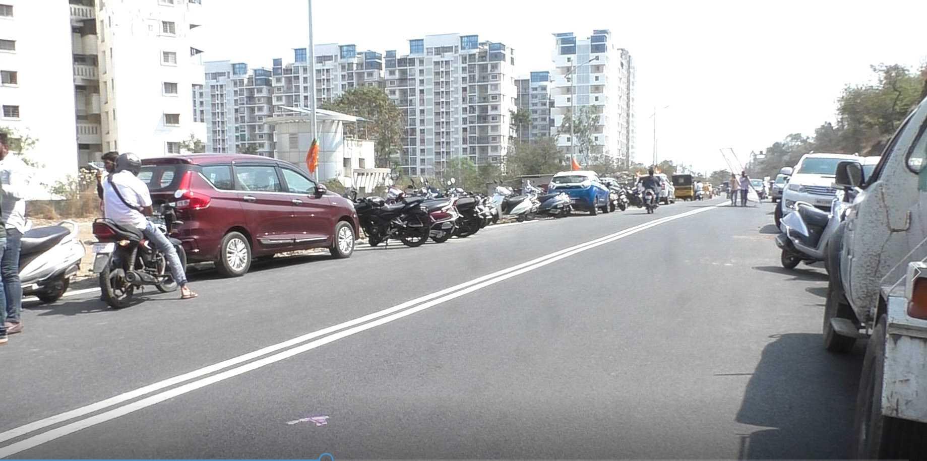 मुंबई-बेंगलोर महामार्गाला कोथरूड जोडणाऱ्या एका नव्या रस्त्याचे लोकार्पण (व्हिडीओ )
