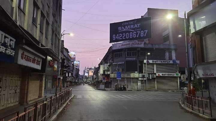 महाराष्ट्रात १५ मे पर्यंत निर्बंध कायम ..