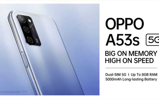 ओप्पो ए५३एस ५जी आला ..किंमत १४,९९० रुपये.