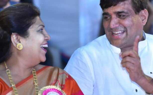 आबा बागुलांच्या लग्नाच्या वाढदिवसाचा असा झाला आनंद सोहळा ...(व्हिडीओ)