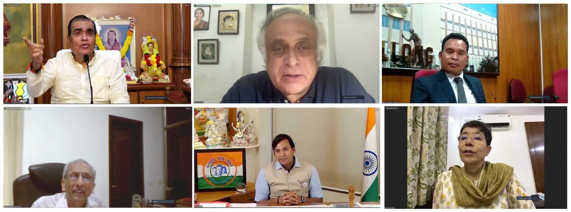 पर्यावरण रक्षणासाठी जगाने एकत्रित यावे -माजी केंद्रीय मंत्री जयराम रमेश
